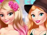 Игра Барби и Эльза: Модное Свидание